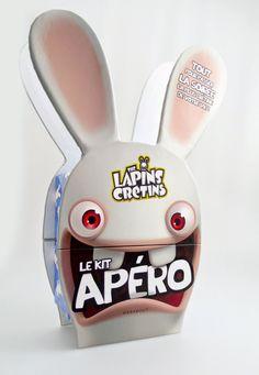 Goodies Les Lapins Crétins: Les Kit Apéro Lapins Crétins