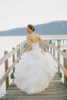 @Anne Barge #Amherst via #Nordstrom | See the wedding on SMP - http://www.StyleMePretty.com/washington-weddings/2014/01/21/bainbridge-island-wedding-2/ Yvone Wong Photography