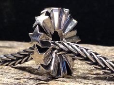 Silver Elfbeads Starwheel- Swiss Flower and Gift Cottage