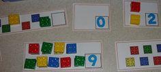 Atividade: cores, numerais e quantidades com lego ~ ESPAÇO EDUCAR