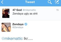 Zendaya Amazingly Responds To Twitter Hater Who Called Her 'Ugly As Sh*t' - http://oceanup.com/2015/01/30/zendaya-amazingly-responds-to-twitter-hater-who-called-her-ugly-as-sht/
