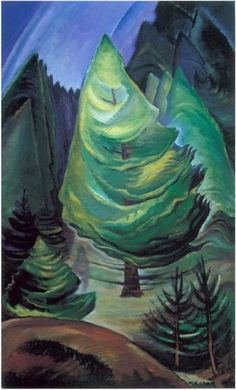 The Little Pine by Emily Carr Handmade oil painting reproduction on canvas for sale,We can offer Framed art,Wall Art,Gallery Wrap and Stretched Canvas,Choose from multiple sizes and frames at discount price. Tom Thomson, Canadian Painters, Canadian Artists, Matisse, Emily Carr Paintings, Vancouver Art Gallery, Art Chinois, Impressionist Paintings, Oil Paintings