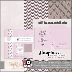 free happiness kit with journal cards