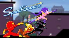 Corra pela sobrevivência em SpeedRunners