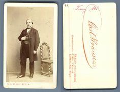 C. Krause, Berlin Le compositeur Franz Abt    #CDV #portraits #Musiciens_Peintres_