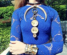 IMPROMP-two: SA.. fari inspired necklace