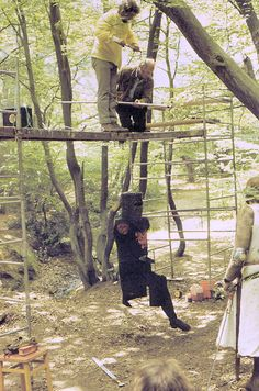 """Behind the scenes of Monty Python's Holy Grail - """"'Tis only a flesh wound!"""""""