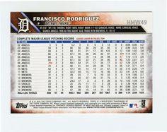 2016 Topps Holiday Baseball #HMW49 Francisco Rodriguez Back