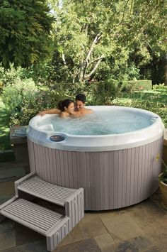 J210 Hot Tub - The only circular Jacuzzi Hot Tub, and one of our most popular