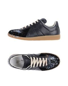 Maison Margiela Men Sneakers on YOOX. The best online selection of Sneakers Maison Margiela. YOOX exclusive items of Italian and international designers - Secure payments Margiela Sneakers, High Top Sneakers, Shoes Sneakers, Soft Leather, Cleats, Dark Blue, Louis Vuitton, Footwear, Mens Fashion