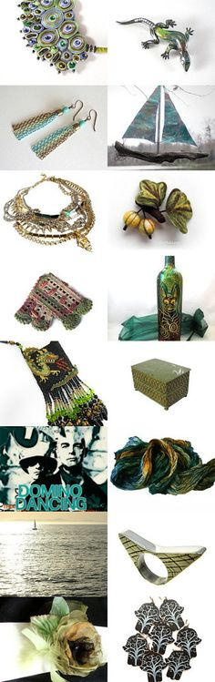 Tuesday Colors by Ann White on Etsy--Pinned with TreasuryPin.com
