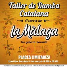 Taller de Rumba Catalana amb La Màlaga