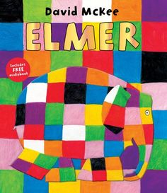 Elmer by David McKee http://www.amazon.co.uk/dp/1842707310/ref=cm_sw_r_pi_dp_Z64cub1HTFRAT