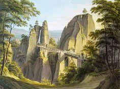 Kuriositas: Bastei: Amazing Bridged Bastion of Saxony