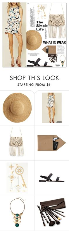 """""""what to wear"""" by yoinscollection ❤ liked on Polyvore featuring Flora Bella, STOW and Borghese"""