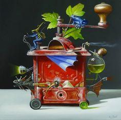12-Прекрасные картины Wim Bals