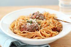 Jenny Steffens Hobick: The BEST Homemade Meatballs | Spaghetti & Meatball...