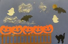 five little pumpkins sitting on a gate images - : Yahoo Image Search Results
