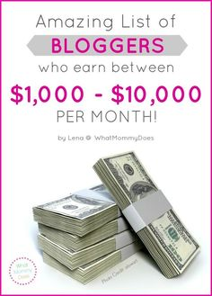Lots of people write their blogs in their free time and/or work less than full time hours, but make good incomes from it. These 25 bloggers share their income reports and exlain how they make money online. Use it to validate your own ideas on how to earn money from home.