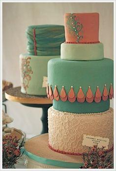 Vintage Cakes by Lindsay McKendrick