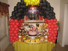 Power rangers cupcakes
