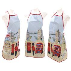 Jan Pashley London Design Polyester Schürze Puckator http://www.amazon.de/dp/B00E6ED2VA/?m=A37R2BYHN7XPNV
