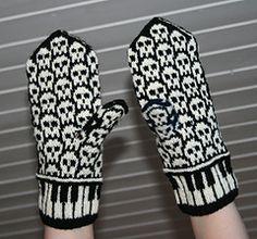 Let's Rock mittens pattern by Jorid Linvik....hammertollllllll!!!!