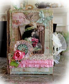 Other: Altered Memory Keepsake Book Box **SCRAPS OF DARKNESS** **SCRAPS OF ELEGANCE**