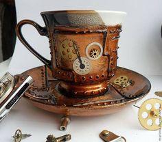 Steampunk Teacup