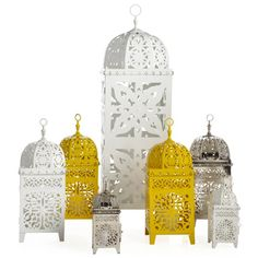 Infuse a Moroccan feel indoors or out with Z Gallerie's exclusive Casablanca Lanterns. $7.95 - $49.95