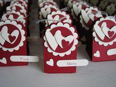 beemybears Stempelblog: Tischkarten zur Hochzeit