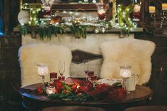 Wintery Sweetheart Table | Brides.com