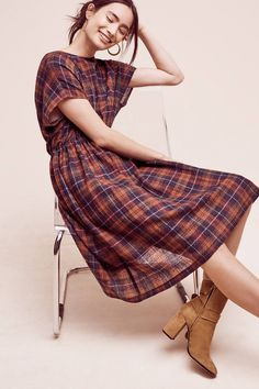 NWT Anthropologie Tess Wool Dress, by Christine Alcalay - size S Modest Fashion, Fashion Outfits, Women's Fashion, Timeless Fashion, Lookbook, Wool Dress, Well Dressed, Everyday Fashion, Dress To Impress