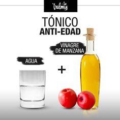 ¿Cómo hacerlo? Realiza este tratamiento en la noche Mezcla 1/4 de taza de vinagre de manzana con 3/4 de taza de agua Aplícalo por todo el rostro con la ayuda de un algodón Déjalo actuar por 5 minutos Enjuaga con abundante agua