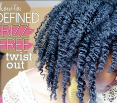 6 Ways to Get the Perfect Twist Out on 4C Natural Hair | Black Girl with Long Hair