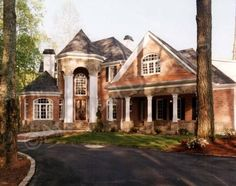 Stone Pond House Plan - Stone Pond House Plan - Front Exterior - Archival Designs