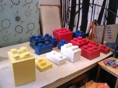 -How to make giant lego bricks
