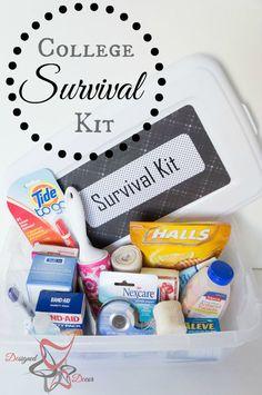 College Survival Kit - DIY Emergency Kit-pinnable