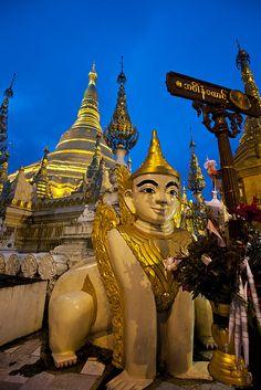 Yangon, Myanmar- Scott & I's 2014 trip to visit my mom! :)