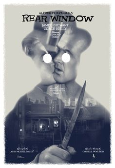 Rear Window Poster by Greg Ruth