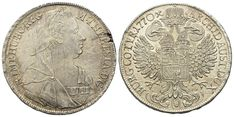 Taler 1765, Wien. Herinek 414 Personalized Items, Old Coins