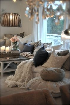 It looks so cozy #home #comfy #warm