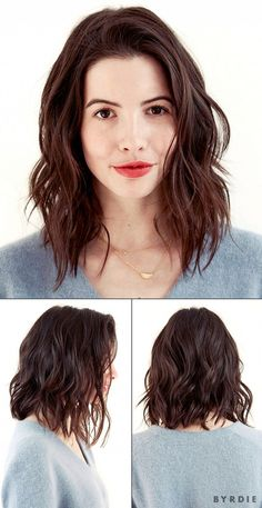 Hairstyles For Wavy Hair Fair 80 Sensational Medium Length Haircuts For Thick Hair  Pinterest