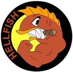 The Flying Hellfish was the military unit of Abraham Simpson Charles Montgomery Burns Simpsons Tattoo, Simpsons Art, Tumblr Stickers, Cute Stickers, Black Spiderman, Tattoo Set, Vintage Comics, T Rex, Cartoon Art