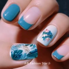 20 Best Nail Art For 2020 – Nail Design – Learn Nail Design Step By Step - Are you looking for Nail art for Yes, new year new style, of course there must be a new nail - Cute Nail Art, Beautiful Nail Art, Love Nails, Pretty Nails, Jolie Nail Art, New Nail Designs, Nail Art Videos, Diy Nails, Nails Inspiration