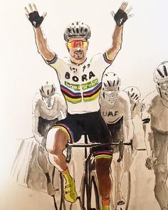 Peter Sagan wins stage 4 of the Tour Down Under Captain Smith  @captainsmithdesign