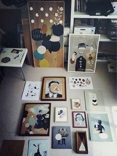 Studio of Mathilde Aubier, France