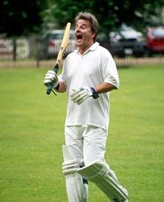 1990s - Trevor Eve playing cricket.