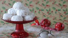 Greek Sweets, Greek Desserts, Greek Recipes, Christmas Sweets, Xmas, Christmas Recipes, Short Bread, Greek Cookies, Desserts With Biscuits