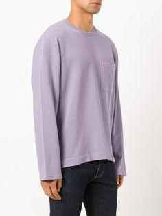 Our Legacy Sweatshirt mit aufgesetzter Tasche